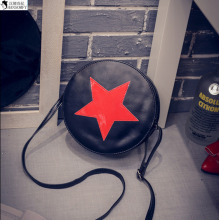 HANSOMFY     Wholesale New Bright Star Small Buns. All-Match Street Fashion Handbag Shoulder Bag