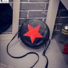 HANSOMFY  Wholesale New Bright Star Small Buns All Match Street Fashion Handbag Shoulder Bag
