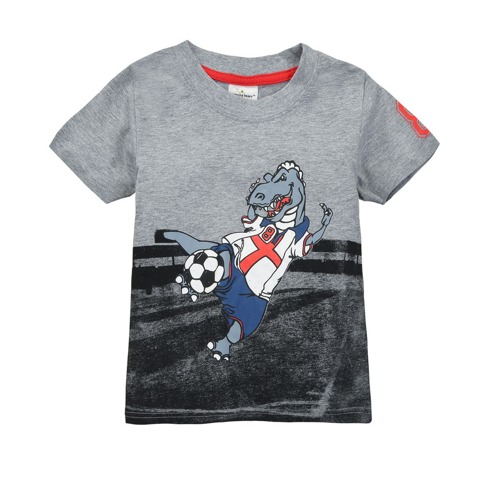 HTB1CcEzHpXXXXXeapXXq6xXFXXXd - brand 2018 new fashion kids clothing 100%cotton blouse childrens clothes baby boy t shirts boy's top tee cartoon car Dinosaur