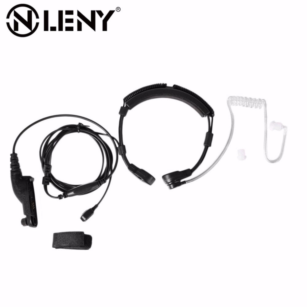 Onleny Walkie Talkie Stretchable Throat Control Acoustic Tube Headset Earpiece for Motorola XIR P8260/8268/6550/P8200/P8208(China)