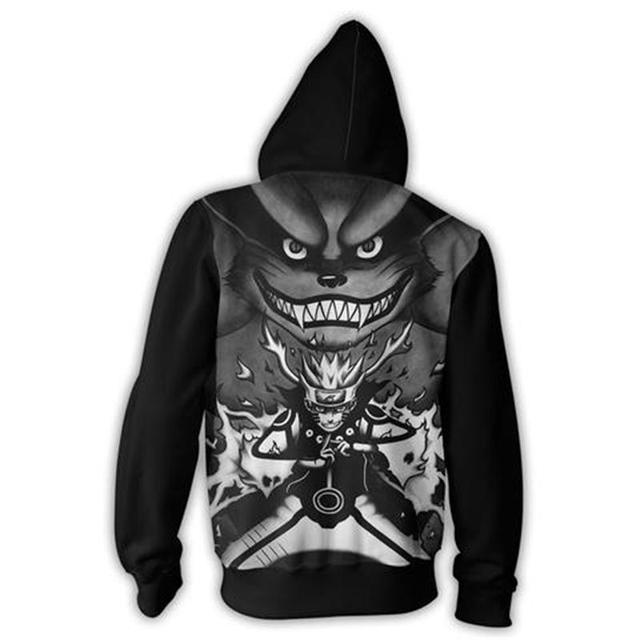 Cool Naruto Sweatshirt Hoodie (New Design)