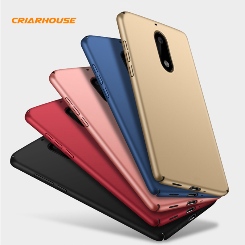 Color Slim 360 Full Smooth Matte Hard PC Case For Nokia 3 5 6 2018 7 5.1 6.1 7.1 Plus 8 Capa Protective Back Cover Phone Cases