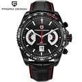Relogio masculino 2017 hombres reloj marca de lujo de múltiples funciones del deporte relojes de cuarzo reloj de buceo 30 m reloj militar hombres pagani design