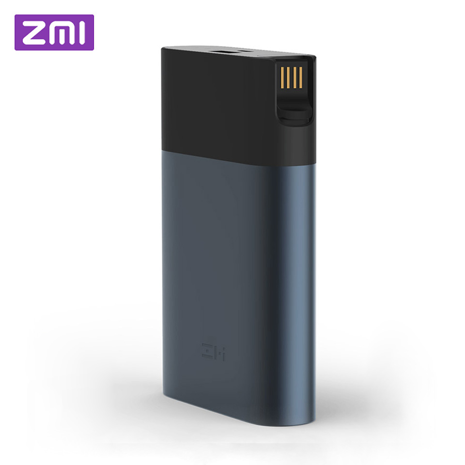 D'origine Xiaomi ZMI 4G Wifi Routeur 10000 mAh batterie externe 3G 4G LTE Mobile Hotspot 10000 mAh QC 2.0 Charge rapide chargeur de batterie portable