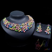 natural crystal stones jewelry wholesale Beautiful Necklace Sets Fashion Jewelry birthday gift