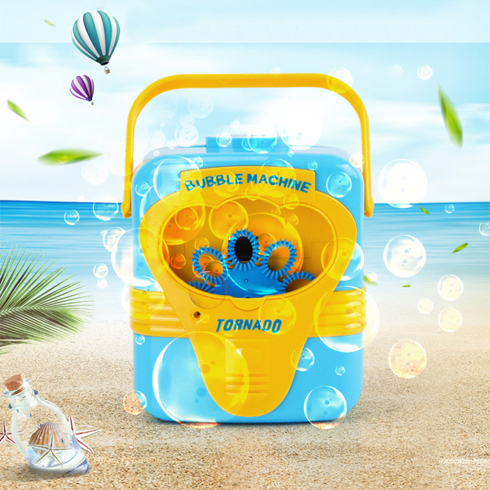 Full Automatic Bubble Machine Blower Maker Party Summer Outdoor Toy For Kids Wholesale And Drop Shipping
