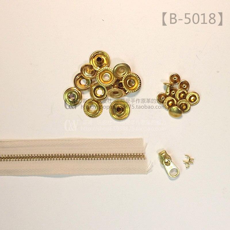 Saco de couro feitos à mão DIY hardwares T-B-5018  B-5018  padrão de  correspondência acessórios de hardware 23d6030e4e668