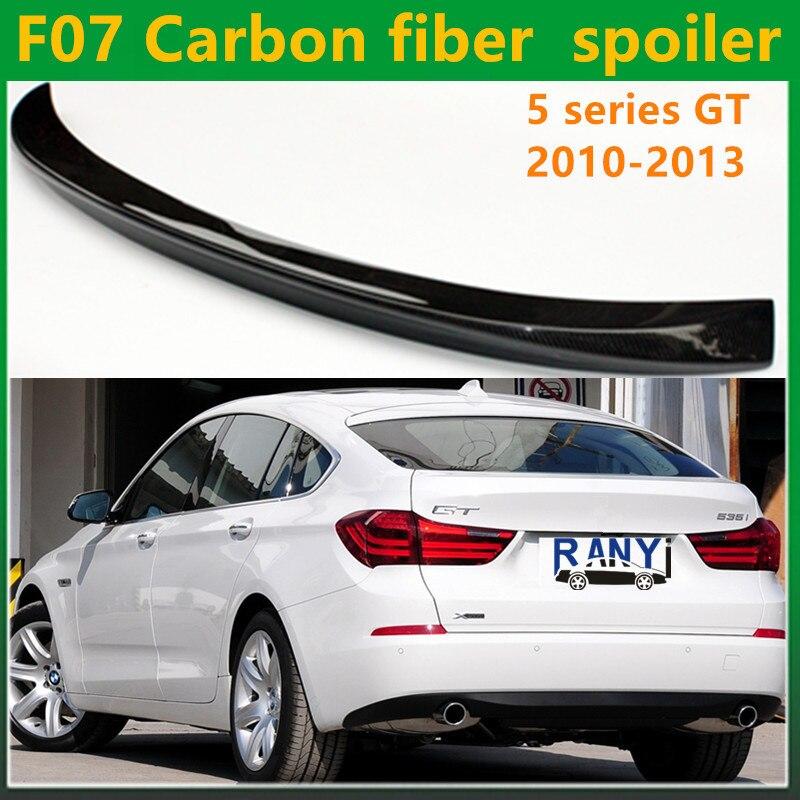 5 серии f07 углеродного волокна AC Schnitzer вид задний спойлер для BMW 5 серии GT Gran Turismo 2010 2013 535i 550i 520d 530d 535d