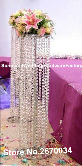 customized acrylic crystal wedding columnsmandappillars for salewedding decor modern crystal