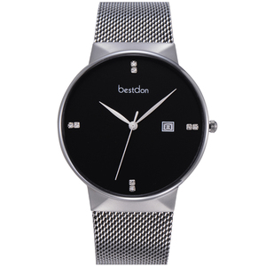 Image 5 - Lovers Watches For Men Womens stainless steel Strap Quartz Watch Mens Sports Clock Womens Dress Wrist Watch Couple Gift