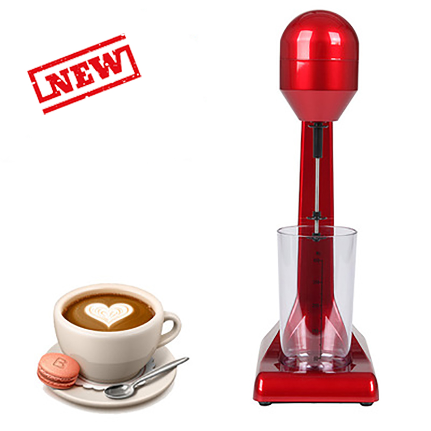 Novo Portátil Elétrica Misturadores Liquidificador o Leite Café Batedor de Leite Espuma De Mistura De Alimentos Multifuncional Máquina do Fabricante De Cozinha 220 V