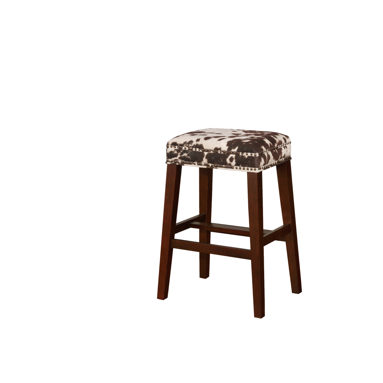 Walt Brown Cow Print Bar Stool свитшот print bar энтони петтис