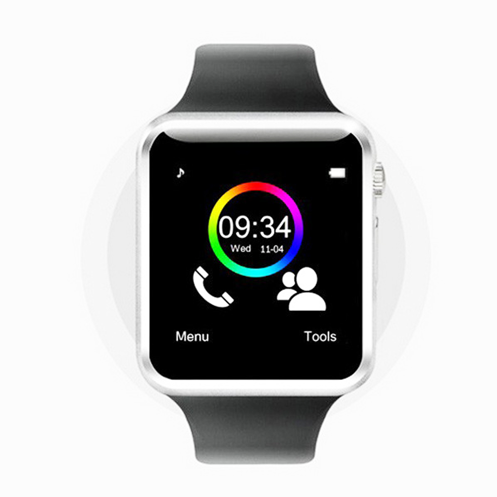 New Bluetooth D1 Smart Watch Wristphone Sport Watches For Apple iPhone 6 Samsung S4 Note 2
