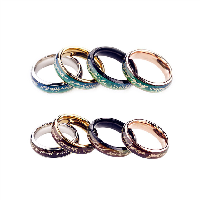 Mood Ring Temperature ring Color Changeable By Temperature
