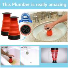 New Professional Sink Plunger Cleaner Air Power Drain Clog Cannon High Pressure Powerful Manual Household Cleaning Tool(China)