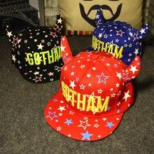 TDX C18 Spring and summer child gotham hiphop cap baseball cap sun hat male female child sun-shading flat-brimmed hat