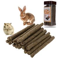 20pcs Pet Alfalfa Molar Sticks Toothpaste Sticks For Chinchilla Rabbit Hamster Oral Health Care Clean Teeth