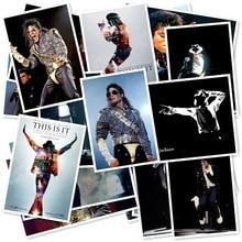 B1-18 # Майкл Джексон классическая серия стикер 20/шт ПВХ Искусство ремесла Коллекция подарок стены дизайн Граффити наклейки Бесплатная доставка