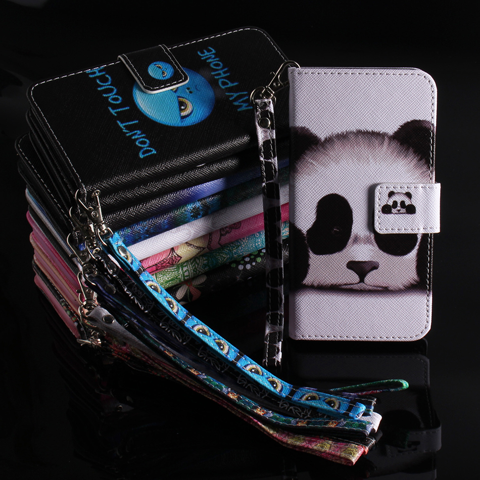 PU Leather Phone Case For iPhone 7 Coque Wallet Flip Cover For Huawei P smart Enjoy 7S Nova 3e P20 Pro P20Lite P20Plus Bags B42