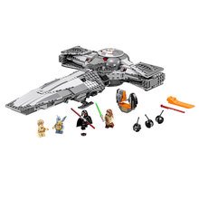 New 698pcs LEPIN 05008 Star Wars Sith Infiltrator Figure Marvel Minifigures Building Blocks Set Toys Compatible With LeGoe 7961