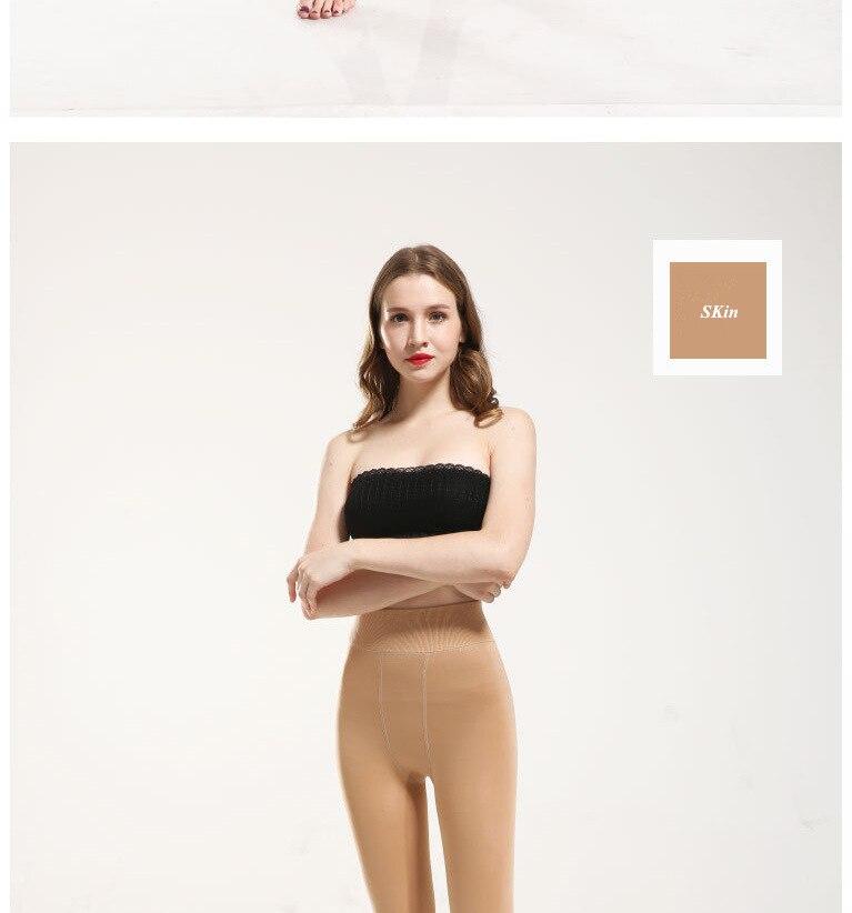 YRRETY Winter Warm Velvet Thick Skinny Pants Women Plus Size High Waist Leggings Trousers Female Clothing Pencil Pants Femme 49