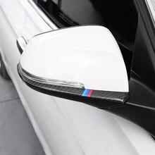 In Fibra di carbonio Per BMW F30 F34 F32 3 4 Serie Accessori Auto Laterale Retrovisore Esterno Luce di Giro Della Banda Trim