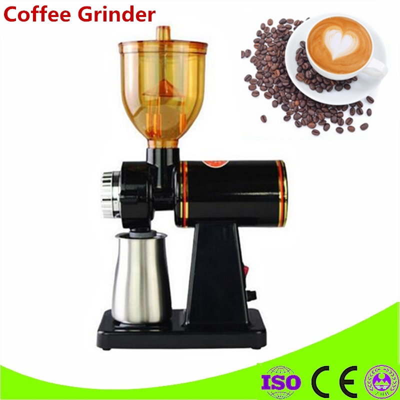 220V/110V Electric Coffee Grinder Machine Coffee Milling Grinder Household Coffee Grinder Mill Capacity 250g grinders machine manual coffee machine household grinder mini grinder