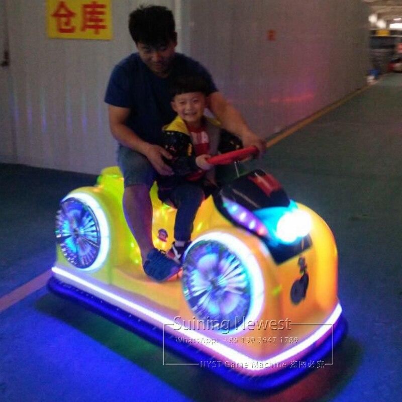 משחקים מקורה חיצוני שעשועים פרק כונן מכונית מירוץ Moto אופנוע רוכב סימולטור משחק מכונת סוללה פגוש מכוניות