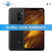 Küresel Sürüm Xiaomi POCOPHONE F1 POCO F1 6 GB 64 GB Cep Telefonu 6.18 ''Tam Ekran Snapdragon 845 Çift AI Kamera LiquidCool CE