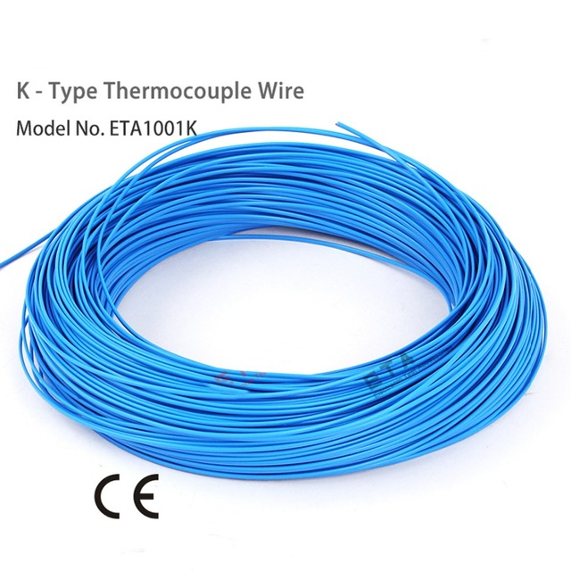 1pc Thermocouple wire industrial temperature testing wire cable made ...