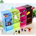 FANYI 4-Grid Synaptic Available Office Storage Box Square Drawer Finishing Grid Stationery Shelf For Children for free shipping