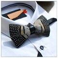 Dos Homens da novidade Bow Tie-Penas Naturais