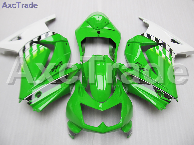 Moto Motorcycle Fairing Kit For Kawasaki Ninja 250 ZX250 EX250 2008-2012 08 - 12 ABS Plastic Fairings fairing-kit Green White moto motorcycle fairing kit for kawasaki ninja zx10r zx 10r 2008 2009 2010 08 09 10 abs plastic fairings fairing kit white black