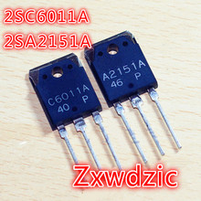 5PAIRS C6011 A2151 ( 5PCS 2SC6011 + 5PCS 2SA2151 ) 2SC6011A 2SA2151A new original 5pcs irf1407pbf irf1407