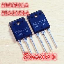 5PAIRS C6011 A2151 ( 5PCS 2SC6011 + 2SA2151 ) 2SC6011A 2SA2151A new original