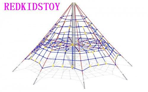 Best Price Net Rope Climbing Heavy Duty Steel Strips Inside Net Climbing Equipment HZ 81030
