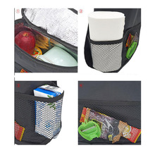 CDCOTN Efficient Multi-Function Portable Car Seat Storage Bag Insulation Food Container Basket Products