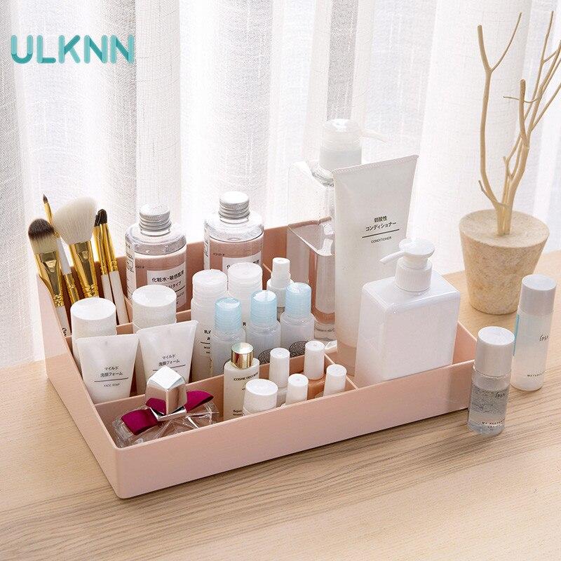 Makeup Organizer Storage Box PP Multifunction Cosmetic Organizer Makeup Storage Drawers Organizer Organiser