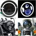 "1 PCS 7INCH LED High/Low Beam Headlight Kit with DRL For Jeep Wrangler Hummer 7"" Harley Motorcycle Headlight"