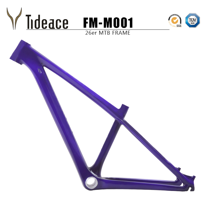 2019 3K 14inch Carbon Mtb Carbon Frame 26 Mountain Bike Frame For Carbon Kids Mountain Bicycle With Headset+clamp+BB92