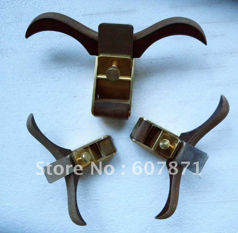 ФОТО 3 pcs Violinmaker's Plane Tools great metal,brass metal