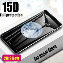 15D Full Protective Screen Glass On The For Huawei Honor 10 9 lite Tempered Glass For Honor 7A 7C Pro Honor 8X Protector Glass(China)