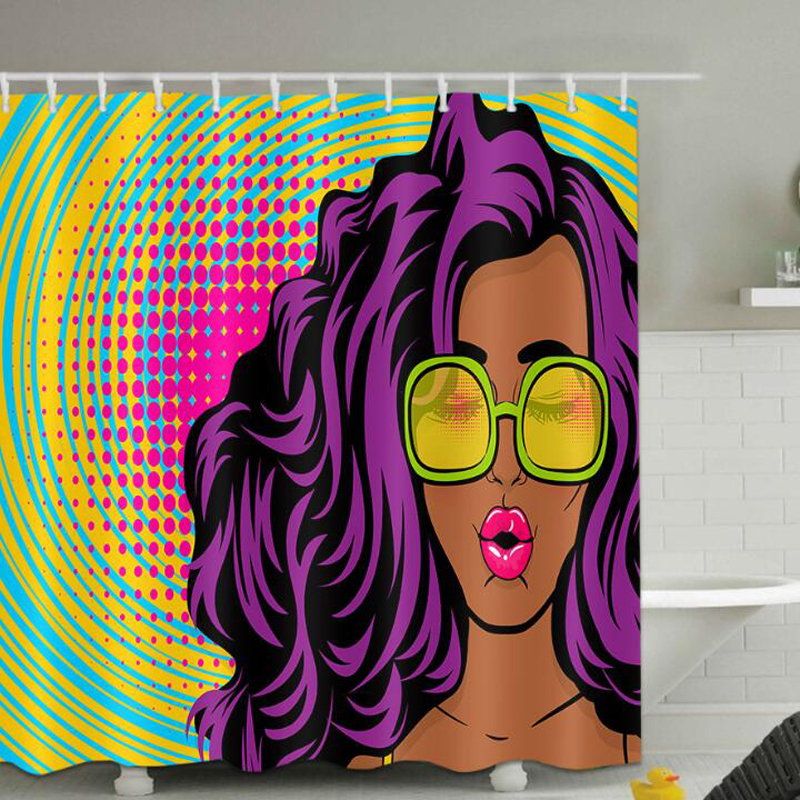 Novo colorido eco-friendly mulher africana impresso à