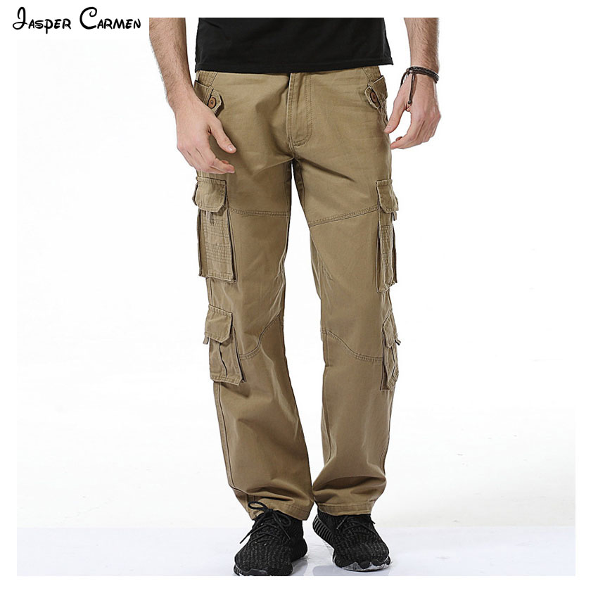 2017 Spring & Autumn high quality Casual Pants Men Brand Work Pants Clothing Slim Fit Cotton Male Trousers men 73z