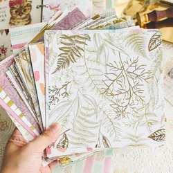 10 листов Kawaii серии материал бумага набор для скрапбукинга самодельная открытка Свободные страницы можно носить с вами милый ремесло