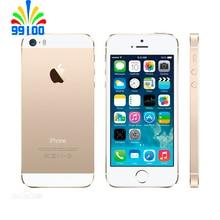 Б/у Apple iphone 5S разблокированный 3G-WCDMA/4G-LTE 1 ГБ ОЗУ 16 Гб/32 ГБ/64 Гб отпечаток пальца б/у телефон