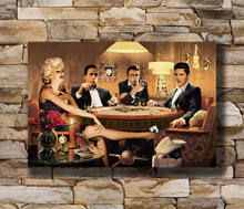 Q0298 posters e impressões quentes monroe james dean elvis presley humphrey bog12x18 24x36 arte poster pintura em tela decoração da sua casa