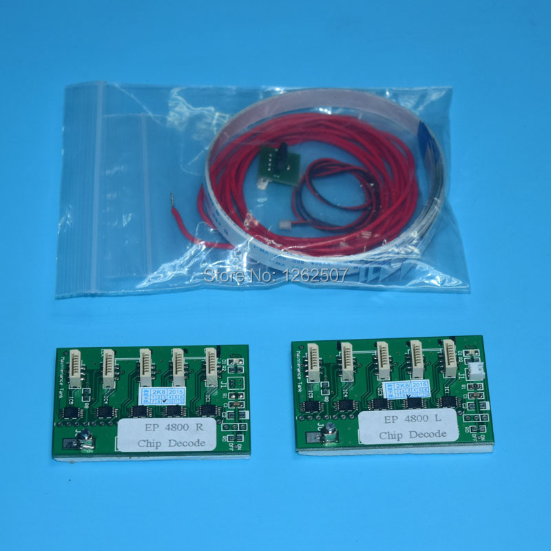 Auto Reset chip decoder for <font><b>Epson</b></font> <font><b>7800</b></font> 9800 inkjet printer <font><b>cartridge</b></font> image