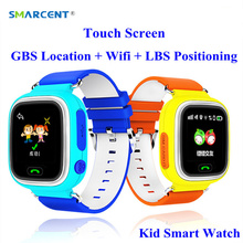 SMARCENT GPS Kid Safe Smart Watch with Wifi Touch Screen SOS Call Tracker Device Anti Lost