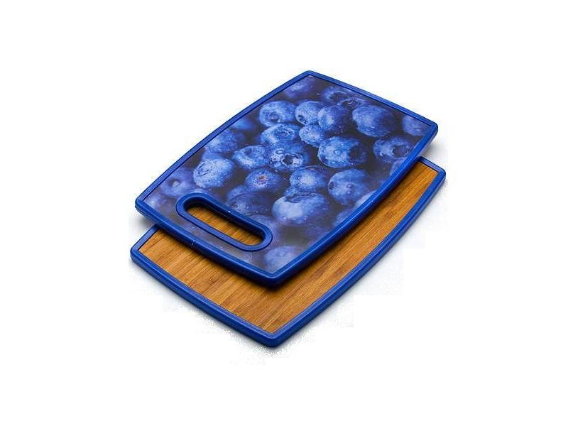 Board cutting MAYER & BOCH, BLUEBERRY, 37*23 cm, double side a4 self healing cutting mat pvc double sided engraving board 3mm thickness